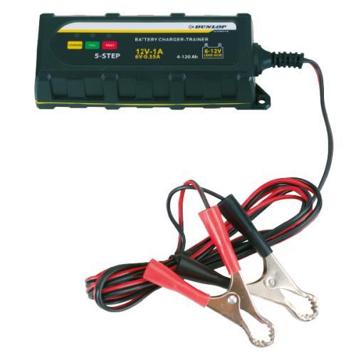 Chargeur de batterie intelligent Dunlop 6/12V