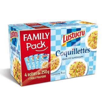 Jusqu'à 50% de remise sur une sélection de produits - Ex:   Family pack Lustucru