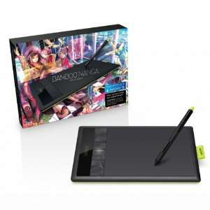 Tablette graphique Wacom Bamboo Manga + Wacom Bamboo Wireless Kit