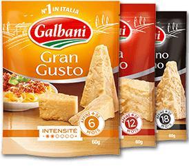 Lot de 3 paquets de fromage râpé Italien Galbani - gratuits (via Shopmium + BDR)