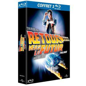 Coffret Blu-ray Trilogie Retour Vers le futur