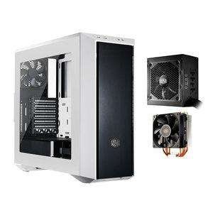 Pack boîtier CoolerMaster MasterBox 5 (blanc) + bloc d'alimentation modulaire G550 80Plus (bronze) + ventirad Hyper 212X
