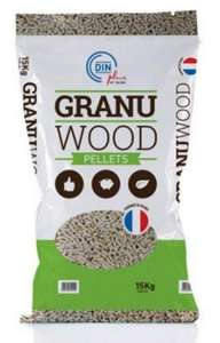 Sac de granulés de bois granuwood - 15Kg