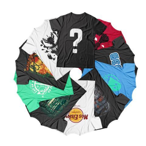 Lot de 10 tee-shirts Geek - aléatoires (femme ou homme, du S au XXXXL)