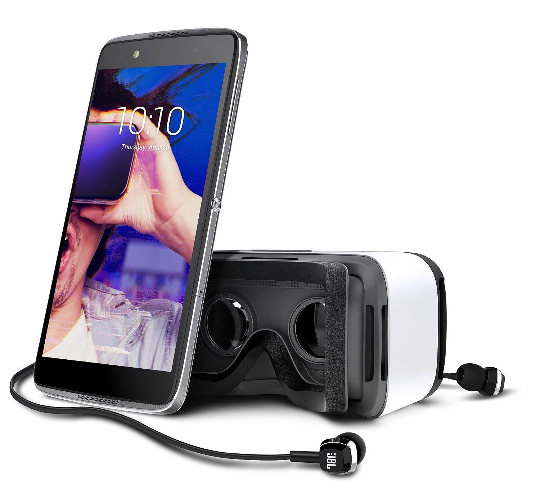 """Smartphone 5.2"""" Alcatel Idol 4 (6055K, 3 Go de RAM, 16 Go) + casque de réalité virtuelle"""
