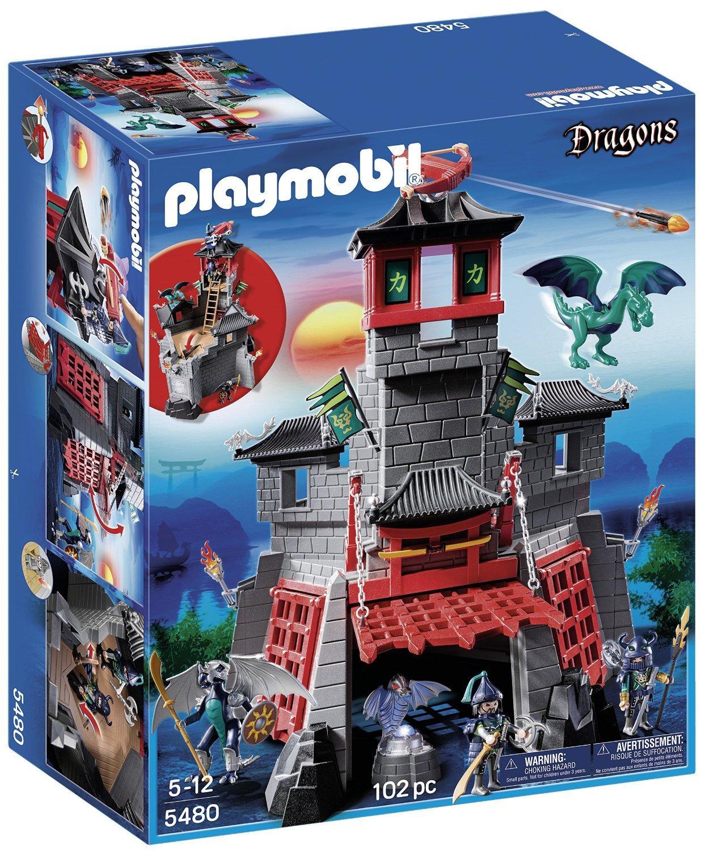 Jouet Playmobil Citadelle Secrète Du Dragon 5480