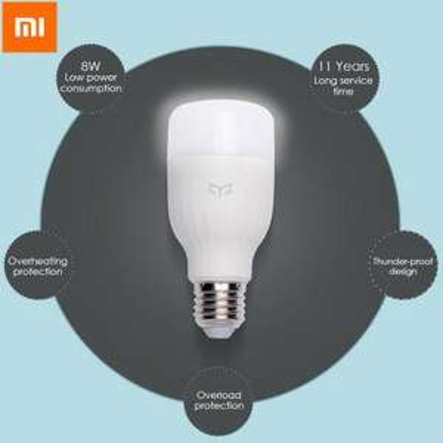 Ampoule connectée Xiaomi Yeelight Smart LED - E27, Lumière blanche