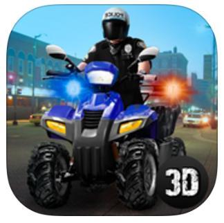 Jeu Police ATV Simulator gratuit sur iOS (au lieu de 6.99€)