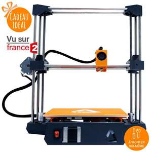 Imprimante 3D en kit Dagoma DiscoEasy200 + Support Buildtak collection Disco + 2 Bobines de Filament Chromatik PLA
