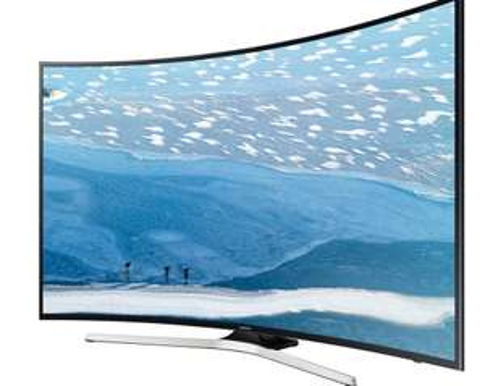 "TV LED 65"" Incurvée Samsung UE65KU6100 - 4K UHD, Smart TV (Via carte de fidélité)"