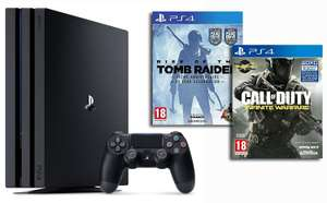 Pack Console PS4 Pro - 1To + Call of Duty : Infinite Warfare + Rise of the Tomb Raider - 20ème Anniversaire