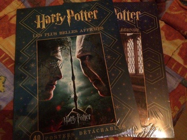 Sélection de Livres Harry Potter en promotion - Ex: Les plus belle affiches ou Portraits de légende