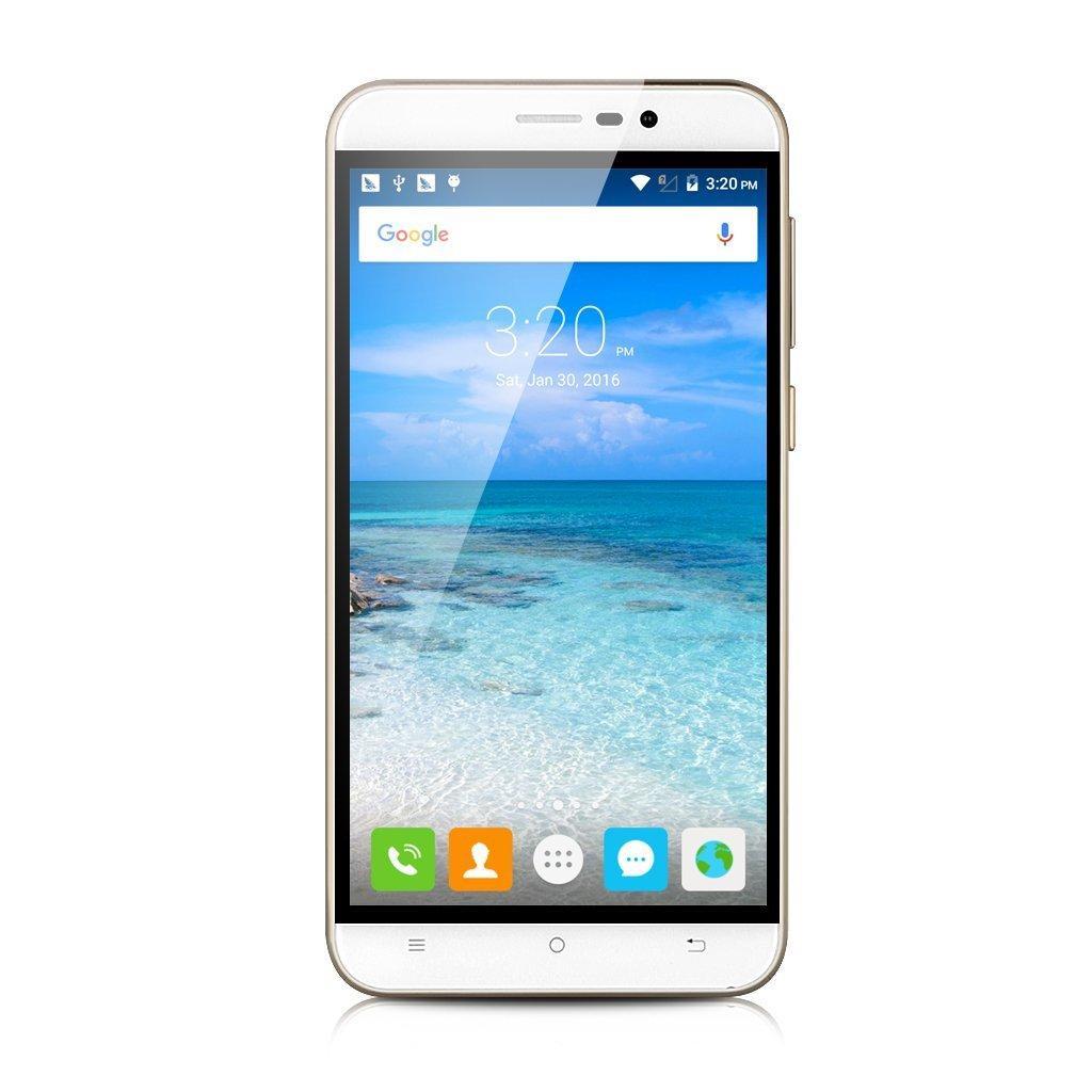 "Smartphone 5.5"" Cubot Note S Dual SIM - IPS HD, Quad-Core MT6580 1.3GHz, RAM 2Go, 16Go, 4150mAh, Android 6.0"
