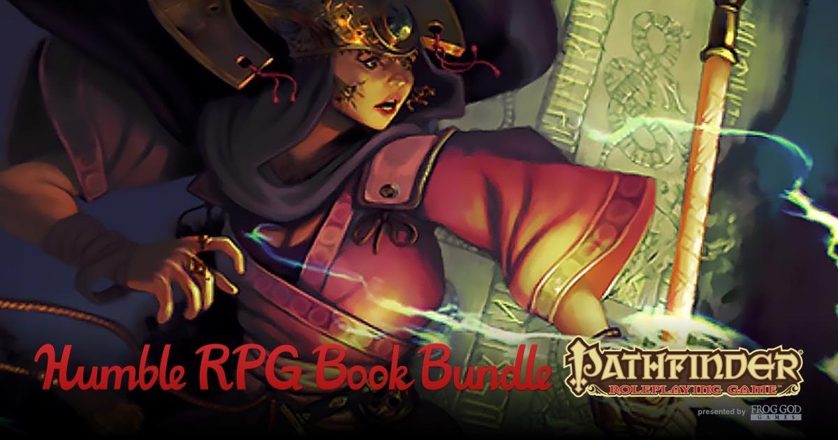 Humble RPG Book Bundle - Pathfinder