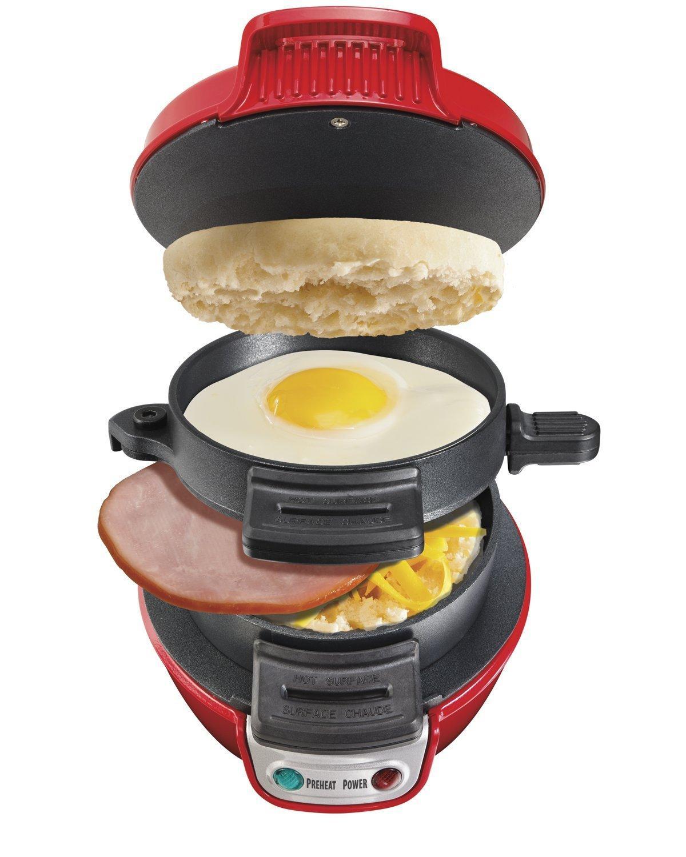 Appareil à muffins Breakfast Sandwich Maker Hamilton Beach