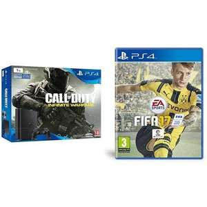 Sélection de Packs PS4 Slim en promotion - Ex : Console PS4 Slim 1To + Call of Duty : Infinity Warfare + FIFA 17