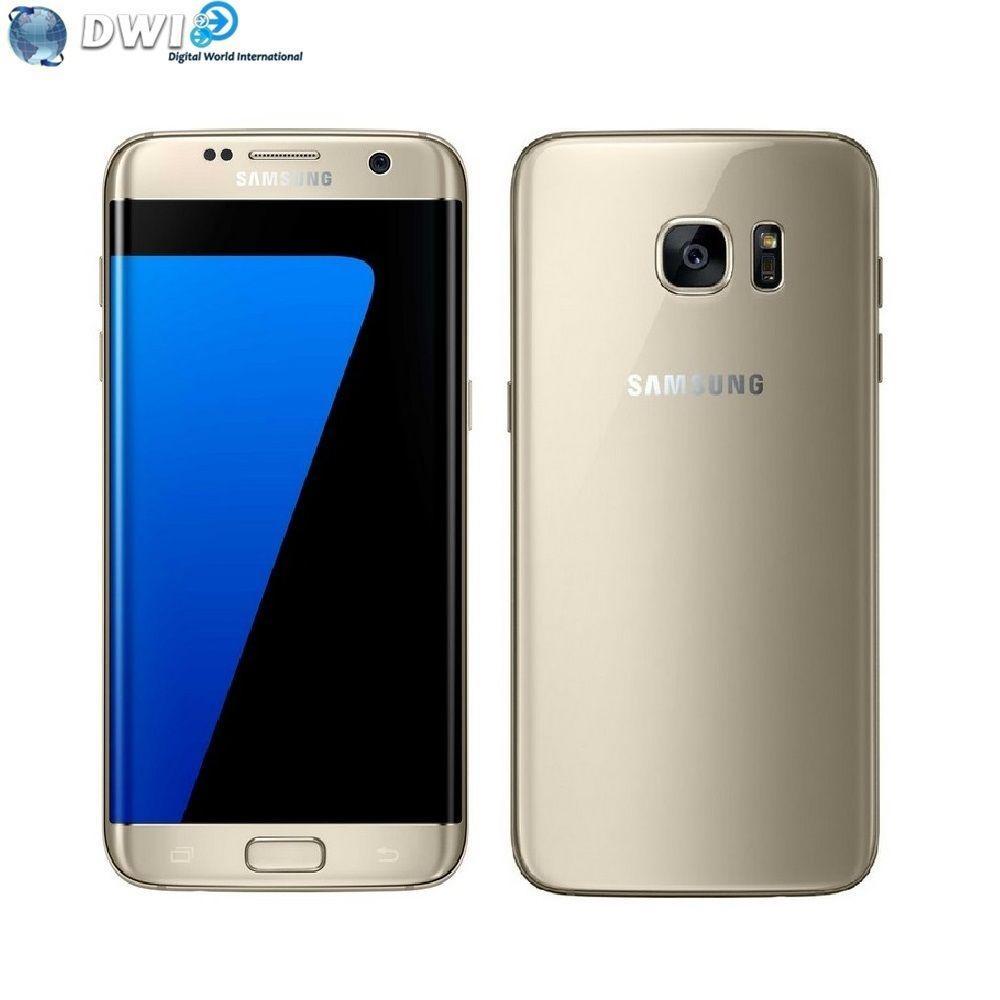 "Smartphone 5.5"" Samsung Galaxy S7 Edge G935FD - 32 Go, Or"