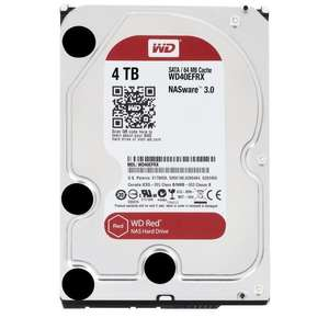 "Disque dur interne 3.5"" NAS Western Digital Red - 4 To (WD40EFRX)"