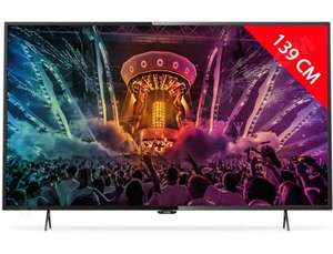 "TV 55"" Philips 55PUH6101/88 - LED, 4K (via ODR de 10%)"