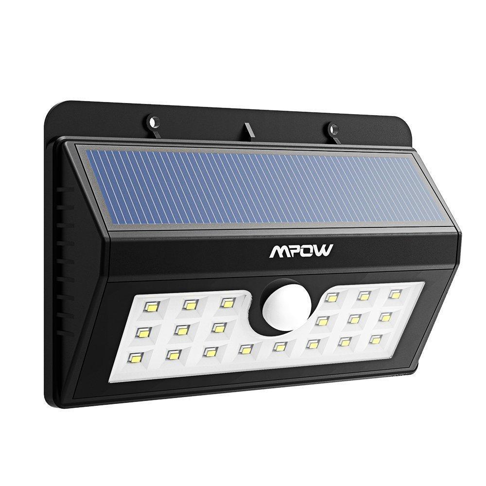 Lampe Solaire  Mpow 3-en-1 - composée de 20 LED