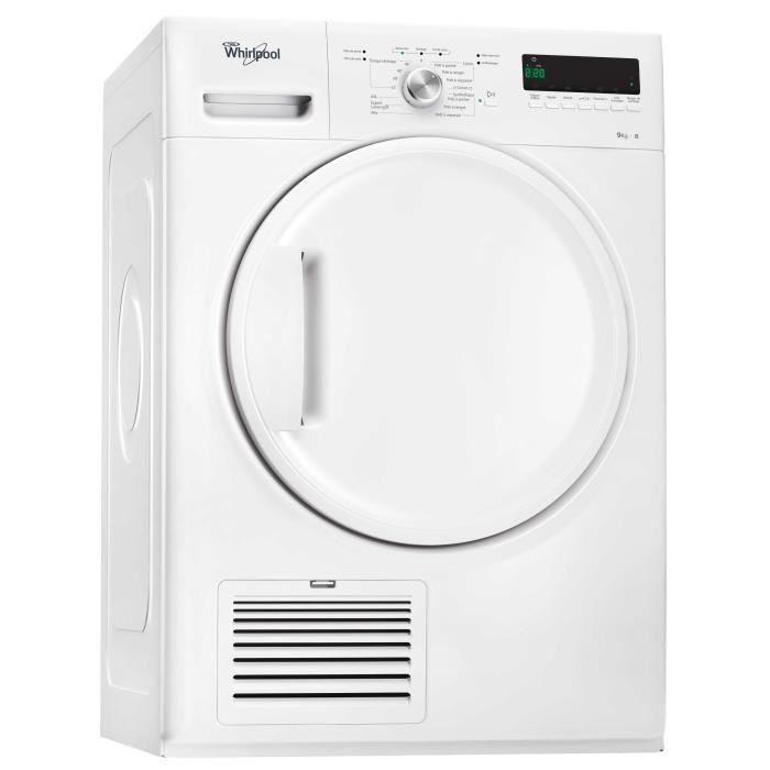 [Cdiscount à volonté] Sèche-linge Whirlpool DDLX90112 - Condensation, 9kg