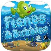 Fishes and Bubbles gratuit sur iOS