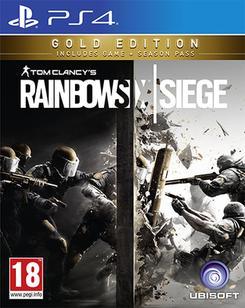 Rainbow Six Siege – Gold Edition sur PS4 (VO uniquement) ou Xbox One (VF)