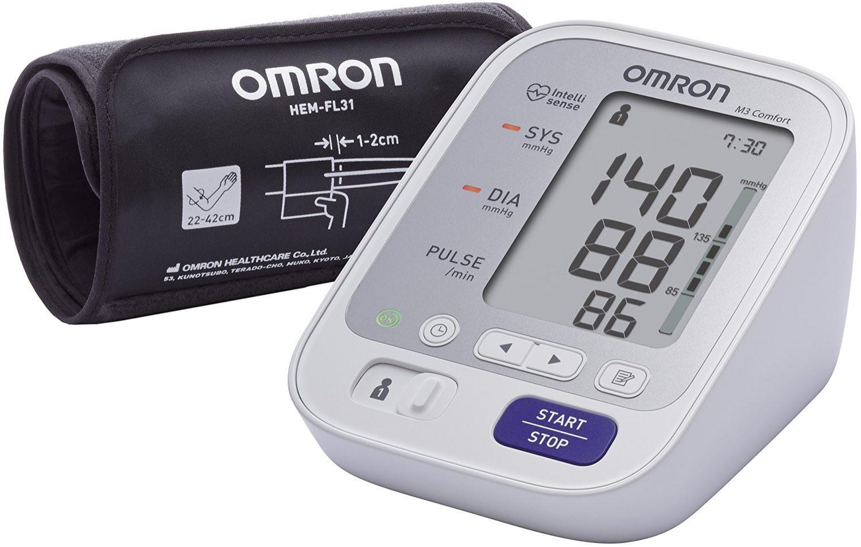 Tensiomètre Electronique au Bras Omron M3 Comfort