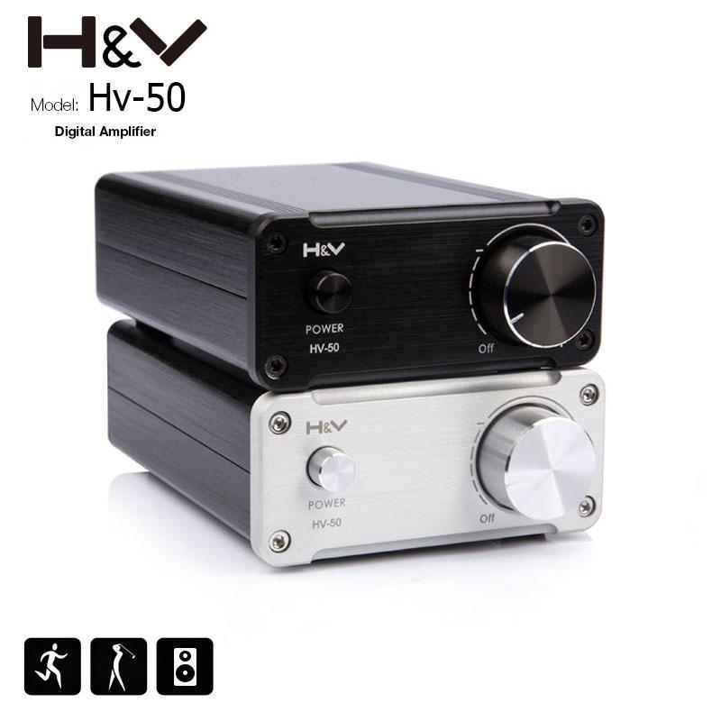 Ampli audio numérique HV-50 - 50 W, 24 V, sans alimentation