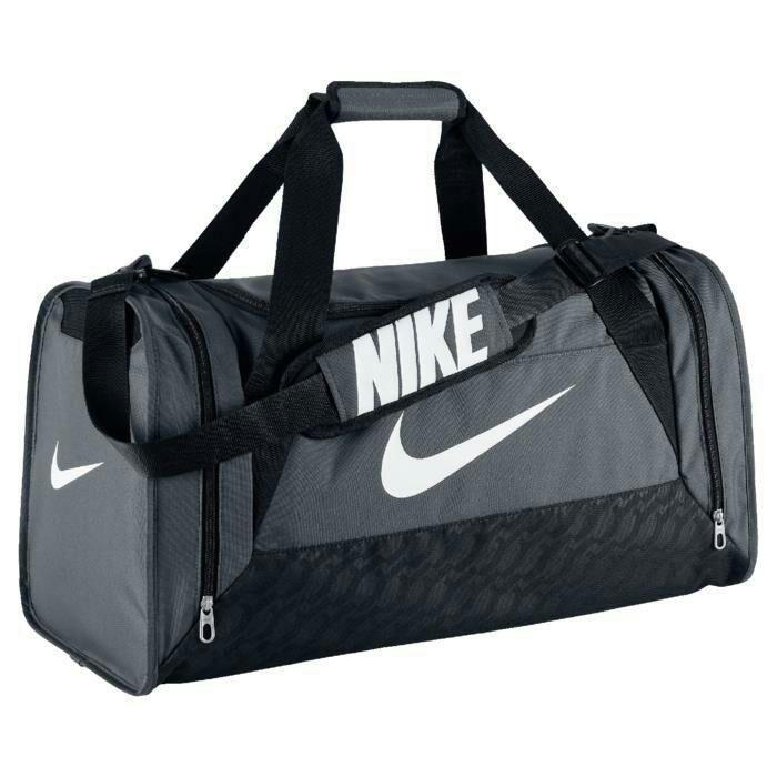 Sac de sport Nike Brasilia M GR - Gris / Noir