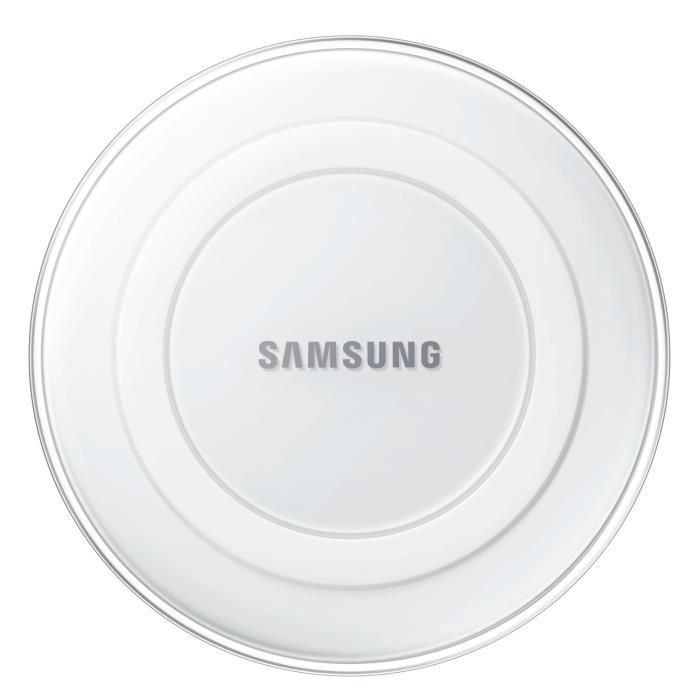 Chargeur à induction sans fil QI Samsung - Blanc