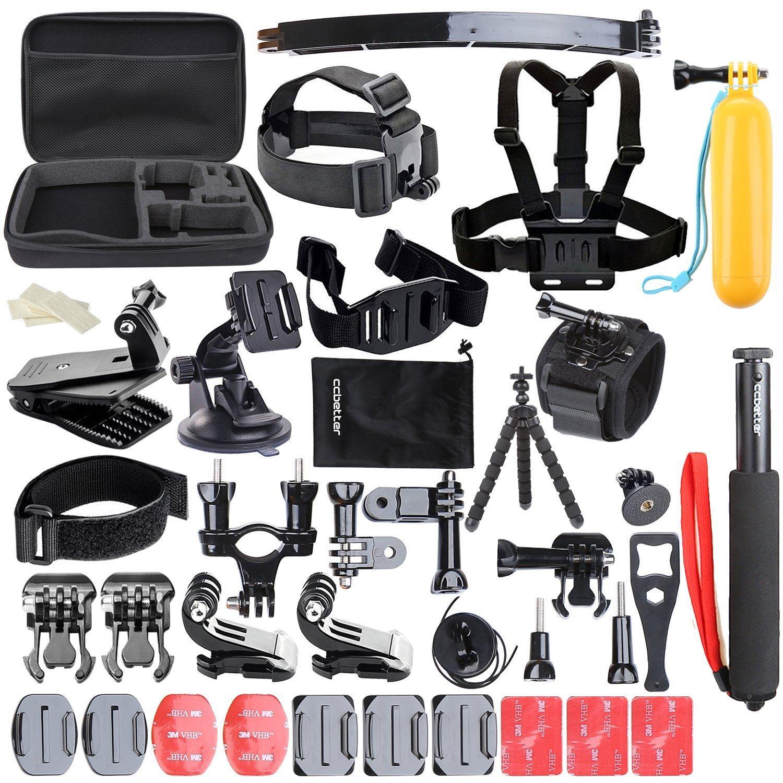 Kit d'accessoires GoPro Ccbetter - 50 en 1