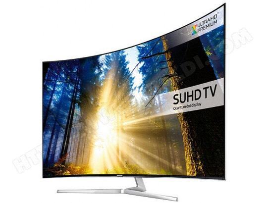 """TV 55"""" Samsung UE55KS9000T - SUHD 4K, Incurvée, SMart TV"""