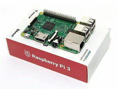 Raspberry Pi 3 Model B Wireless LAN 1 GB Ram BT 4.1 Wi-Fi 4 USB 2.0