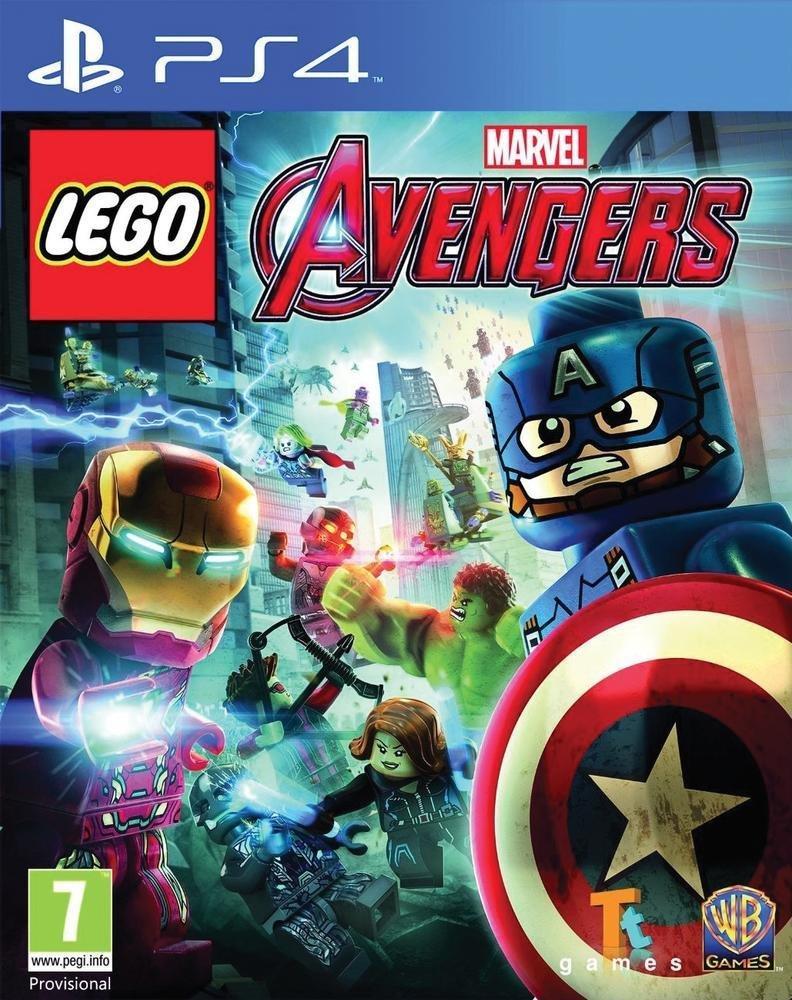 Jeu Lego Marvel's Avengers sur PS4
