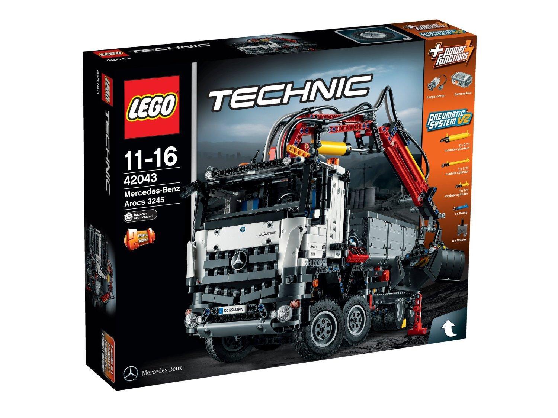 [Premium] Jeu De Construction Lego Technic - 42043 - Mercedes-benz - Arocs