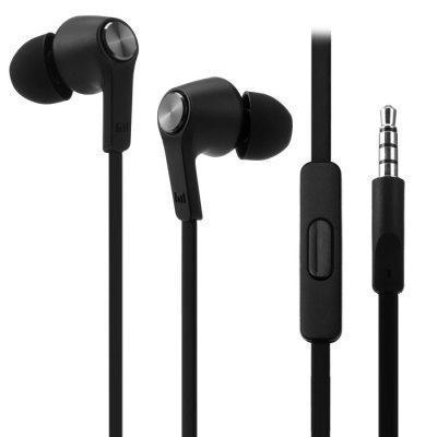 Écouteurs Intra-auriculaires Xiaomi Piston Colorful Edition avec Microphone - Noir