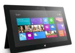 "Tablette 10,6"" Microsoft Surface - Tegra 3 - 32 Go - 2Go de ram - Microsoft Windows RT - Reconditionnée"