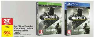 Édition legacy Call of duty Infinite Warfare PS4 ou Xbox One