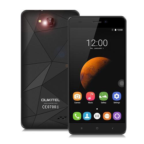 """Smartphone 5"""" Oukitel C3 5.0 - 1 Go de RAM, 8 Go, noir"""