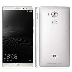 """Smartphone 6"""" Huawei Mate 8 - 32Go, Double Sim, Android 6.0, Argent"""