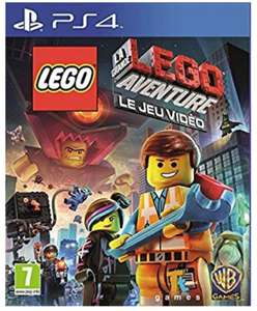 Jeu Lego La grande aventure: le jeu video sur PS4