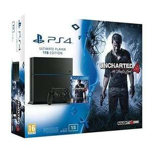 Console Sony PS4 1To + Uncharted 4 + Doom + Dishonored 2 + Skyrim Spécial edition
