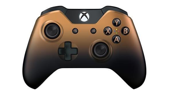 Manette Xbox One sans fil Copper Shadow