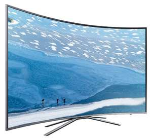 "TV 49"" Samsung UE49KU6500 - Incurvée, HDR, 4K UHD, LED, Smart TV (via ODR de 100€)"
