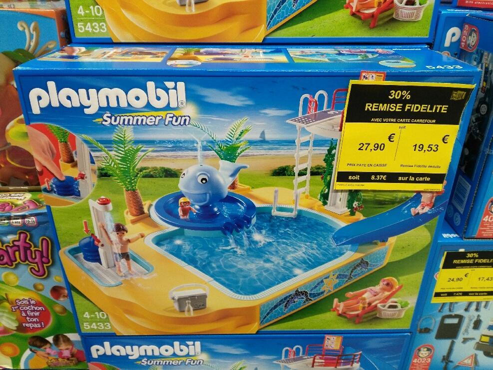 S lection de jouets playmobil en promotion ex playmobil for Piscine playmobil 5433