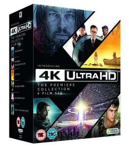 Pack de 6 films 4K Ultra-HD Blu-Ray (Kingsman, The Revenant...)