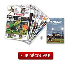 Abonnement gratuit d'une semaine au Journal l'équipe (Version numérique)