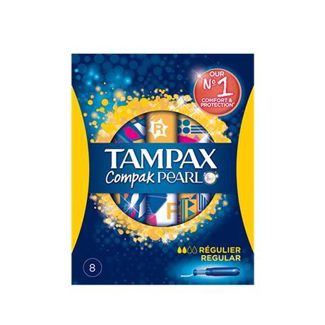 Paquet de Tampax Compak Pearl (via BDR + CN + Quoty)