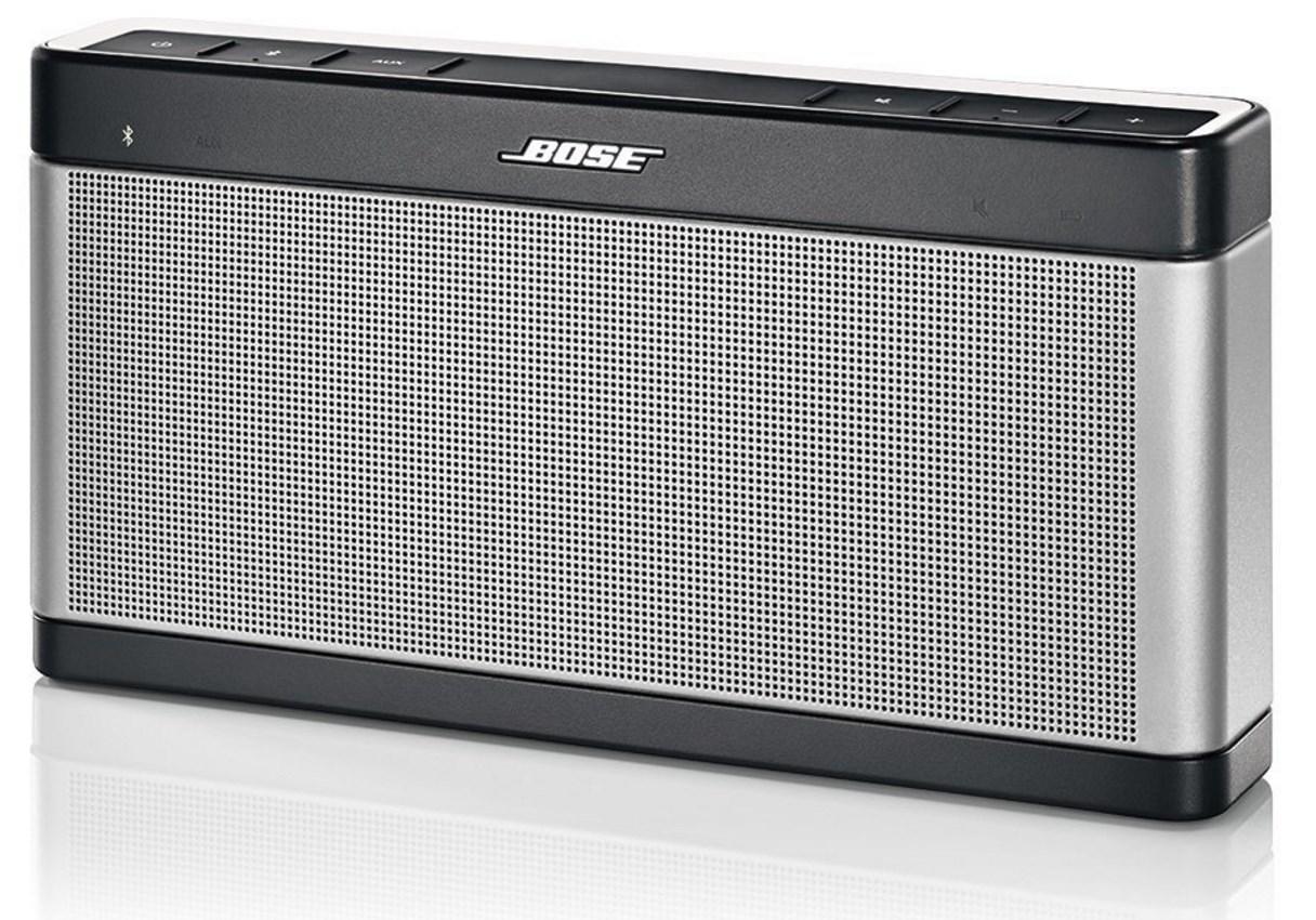 Enceinte portable Bluetooth Bose SoundLink III (avec ODR 20€)